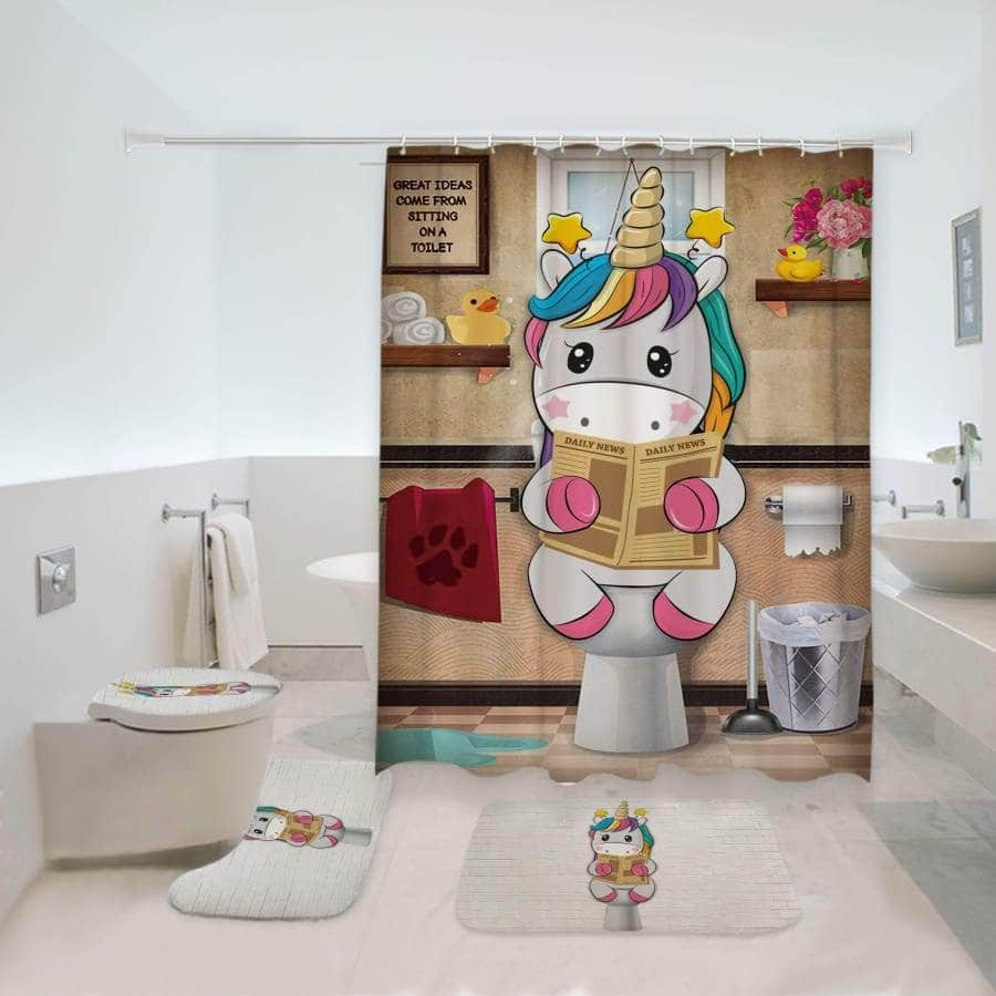 Unicorn Bathroom Set