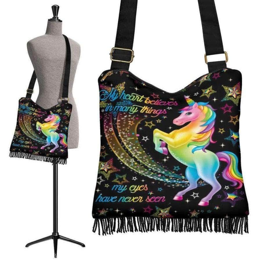 Unicorn Boho Handbag