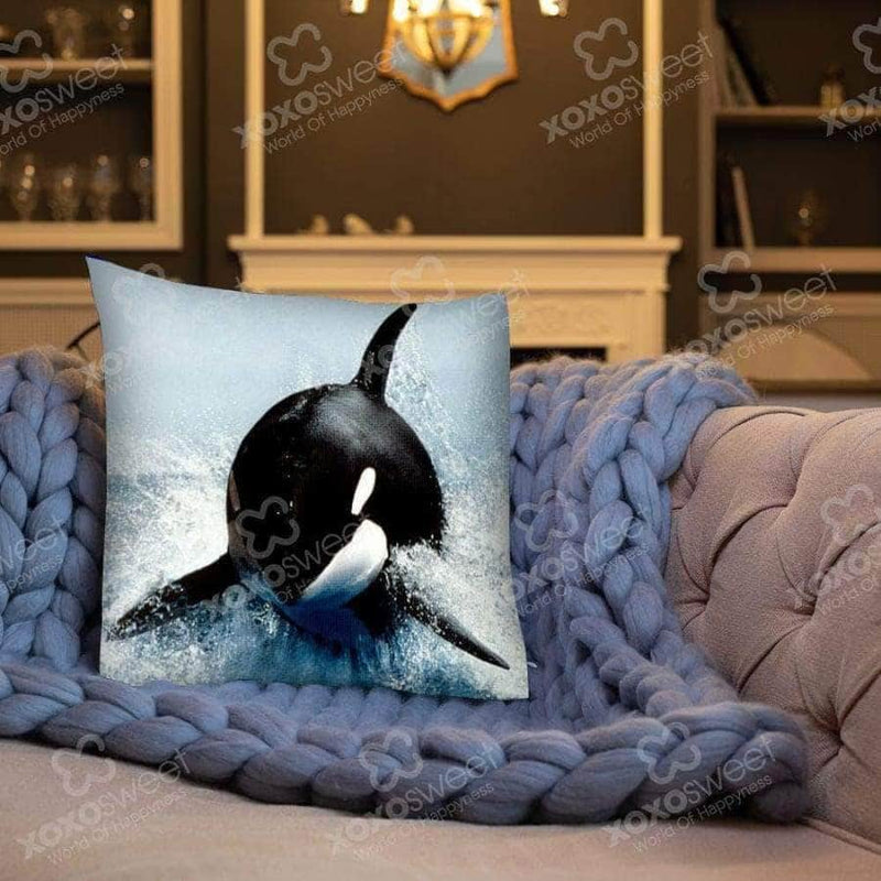 Whale - Pillow cover