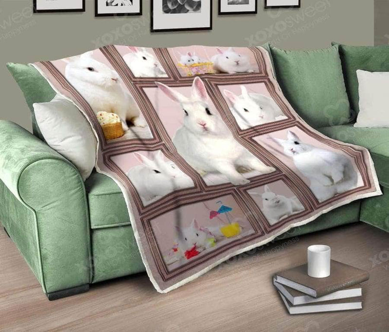 White Rabbit Blanket