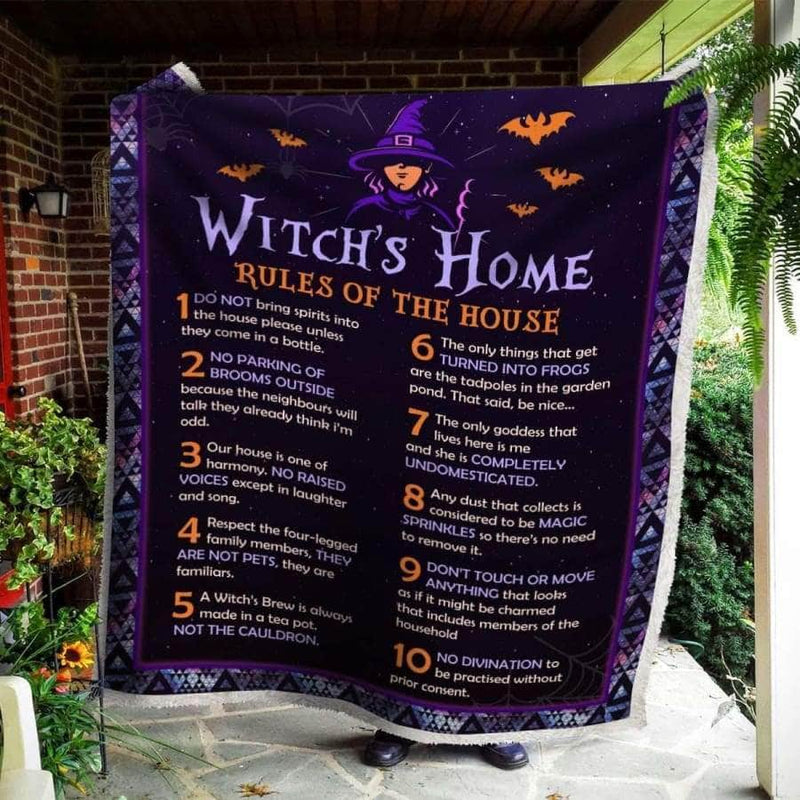 Witchs Home Premium Blanket