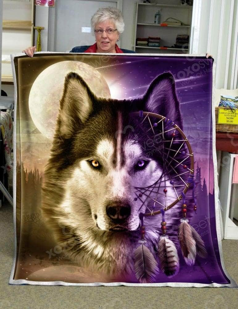 Wolf Dreamcatcher Blanket