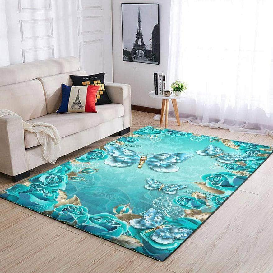 Wonderful Butterfly - Area Rug