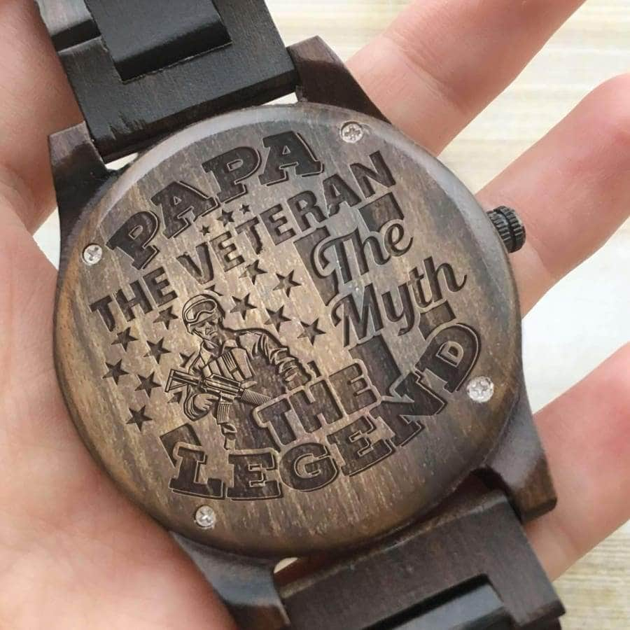 Wooden Watch - PAPA, THE VETERAN