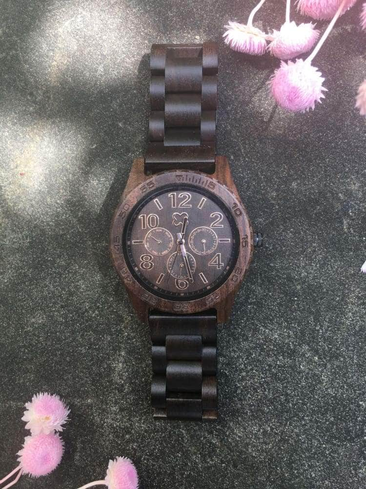 Wooden Watch - TO MY SON I LOVE YOU