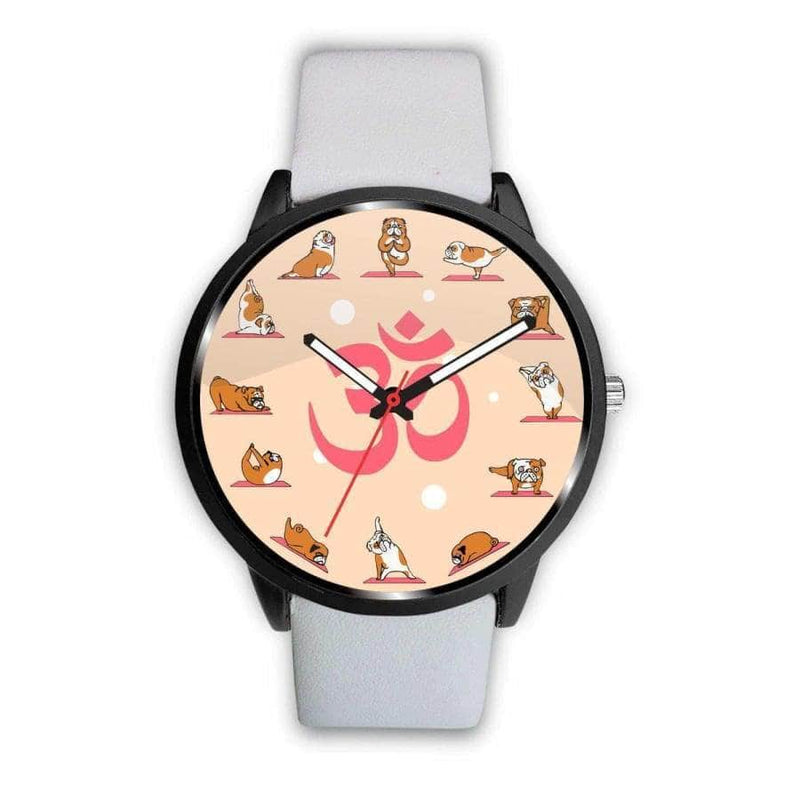 Yoga Bulldog Watch