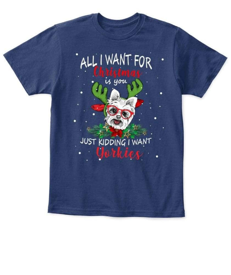 Yorkies Christmas Shirt