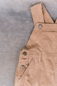 The Corduroy Dungaree - Sand