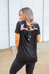 Beautiful Bow Short Sleeve Top