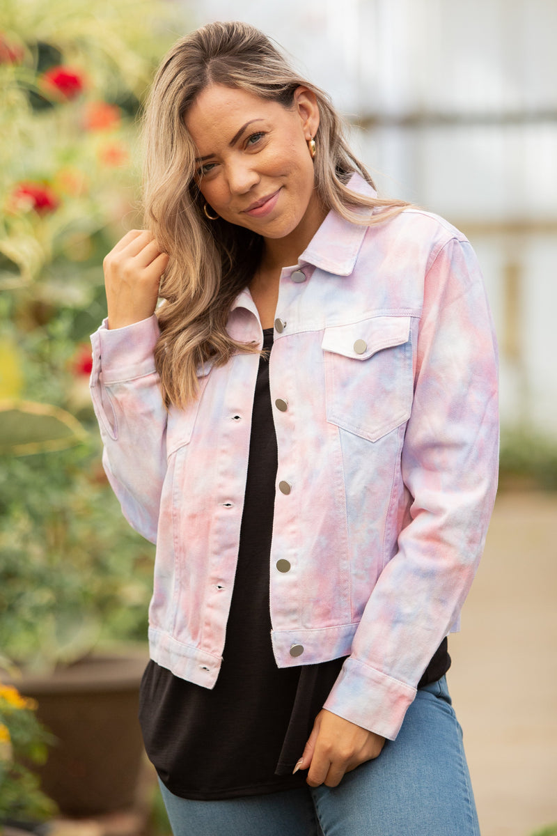 Cotton Candy Denim Jacket