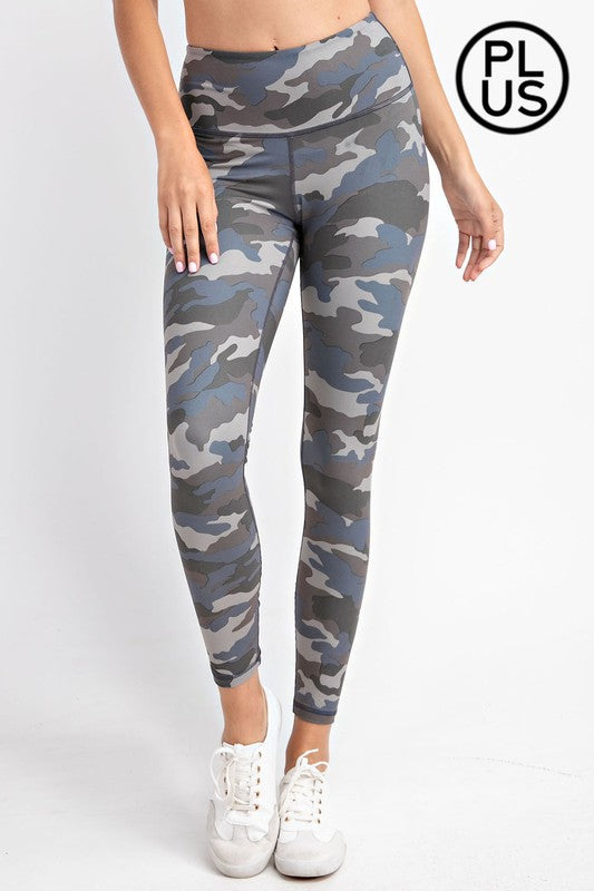 #291 Camo Print Leggings