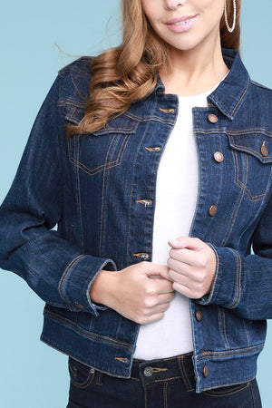 #262 Forever yours jean jacket (FINAL SALE)
