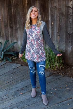 Ring Around The Roses Long Sleeve Top