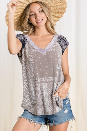 Paisley Mae Short Sleeve Top