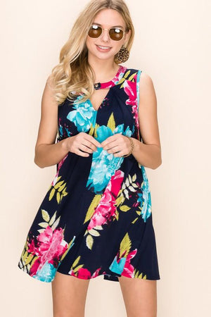 It's Getting Hot Out There Keyhole Dress