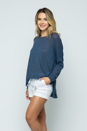 #671 Casual pullover sweater