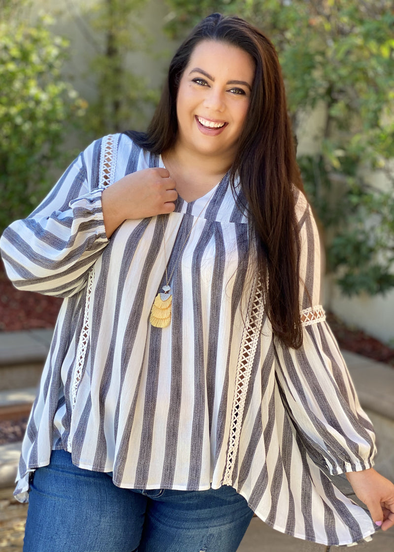 Sunday Afternoon Striped Tunic
