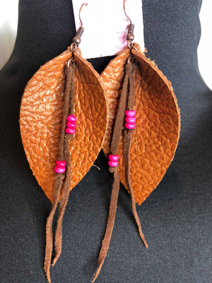 Boho Pink (Earrings)