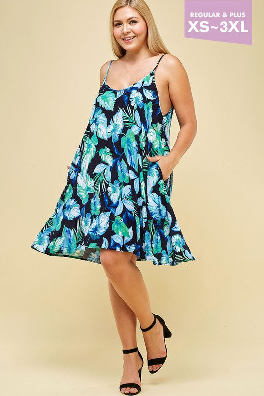 #A11 Go Coconuts Dress (FINAL SALE)