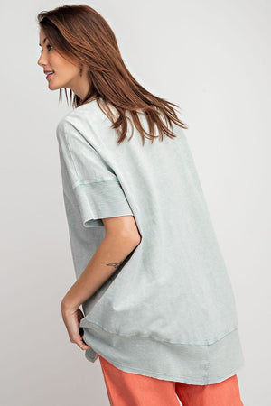 #A63 Loosen Up Knit Top