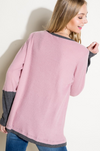 Keep You Happy Waffle Knit Top