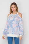 Serendipity Cold Shoulder Long Sleeve Top