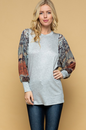 Mysterious Ways Long Sleeve Top