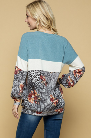 Deep in the Wild Long Sleeve Top