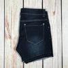 #345 Distressed Denim Shorts