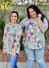 Picture Perfect 3/4 Sleeve Tunic