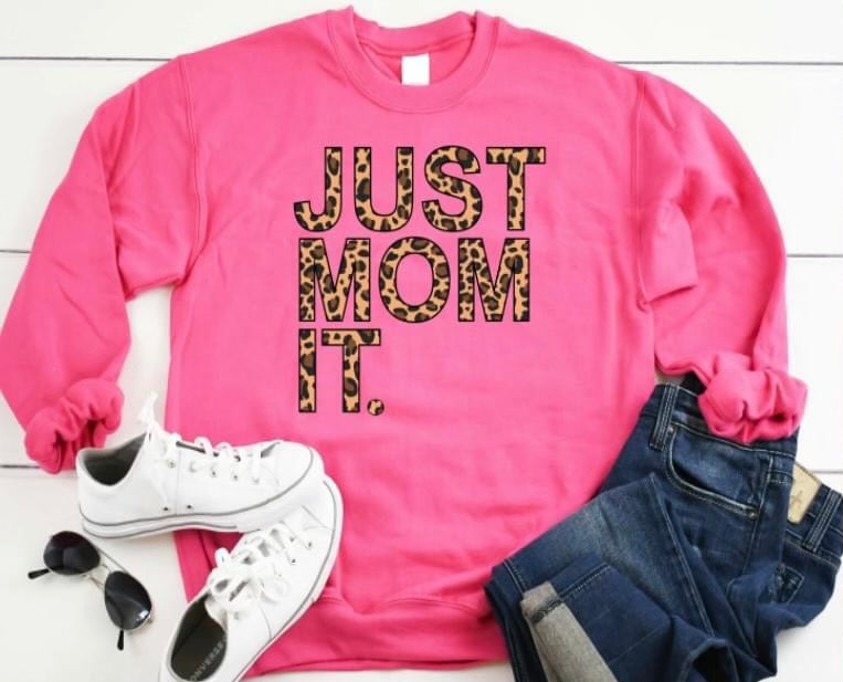 #J65 Just Mom It Long Sleeve Top (PREORDER)