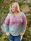 Dipped in Gold Long Sleeve Top