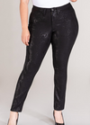 #B156 Sassy & Fierce Black Jeans