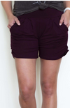 #C160 Burgundy/purple Dreams Shorts