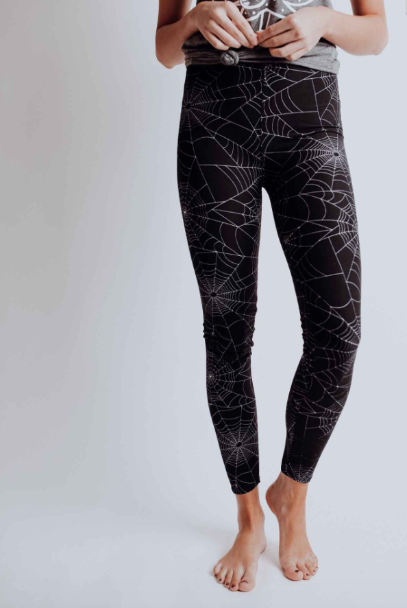 #C156 Caught In The Web Leggings
