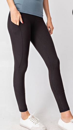 #C918 Black Out The Night  Leggings