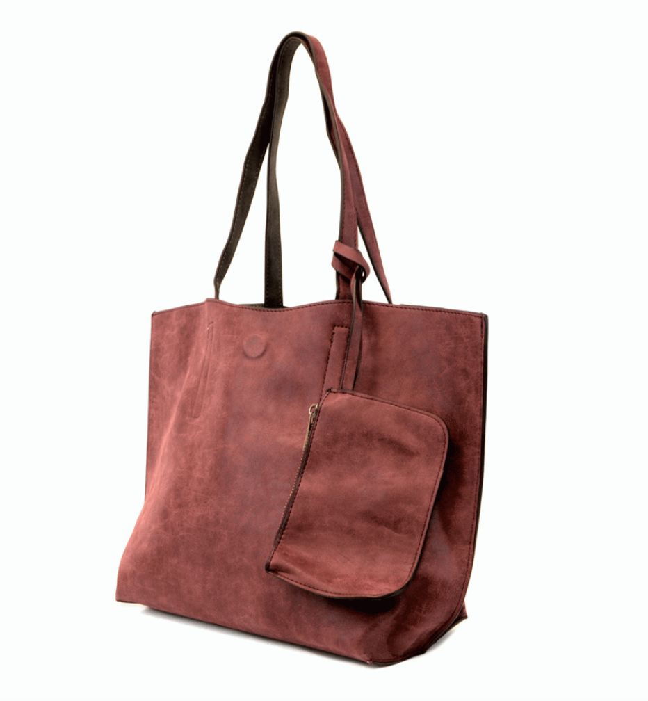 #E17 Carly's Brushed Reversible Tote