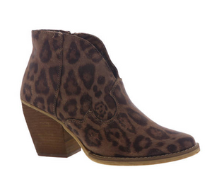 #F51 Very G Festive Leopard Boots