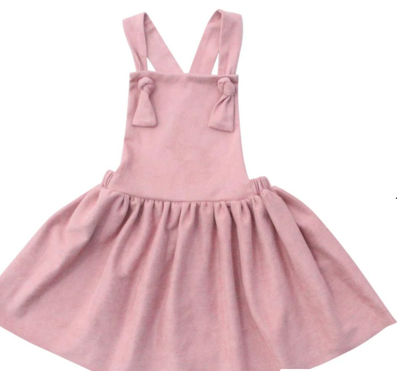 #H762 The Vintage Pink Pinafore