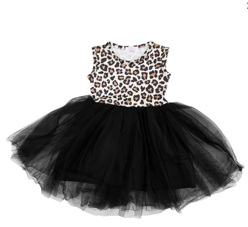 #H763 The Wild One Tank Tutu Dress