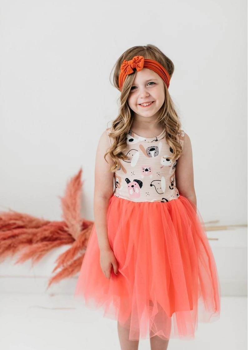 #H764 The Dog Days Tank Tutu Dress