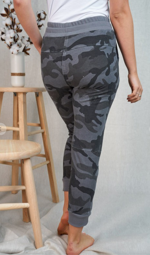 #J427 We Are Warriors Camo Joggers