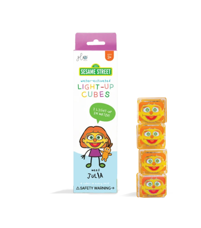 #K103  Julia Glo Pals Light Up Cubes