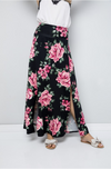 Zoned For Beauty Side Slit Maxi Skirt