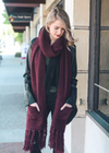 #D46 Cozy Oversized Pocket Scarf