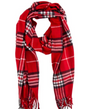 #D110 Cozy Plaid Scarves