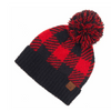 #F40 Buffalo Plaid CC Beanies