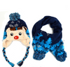#H54 Kids Hat and Scarf Set