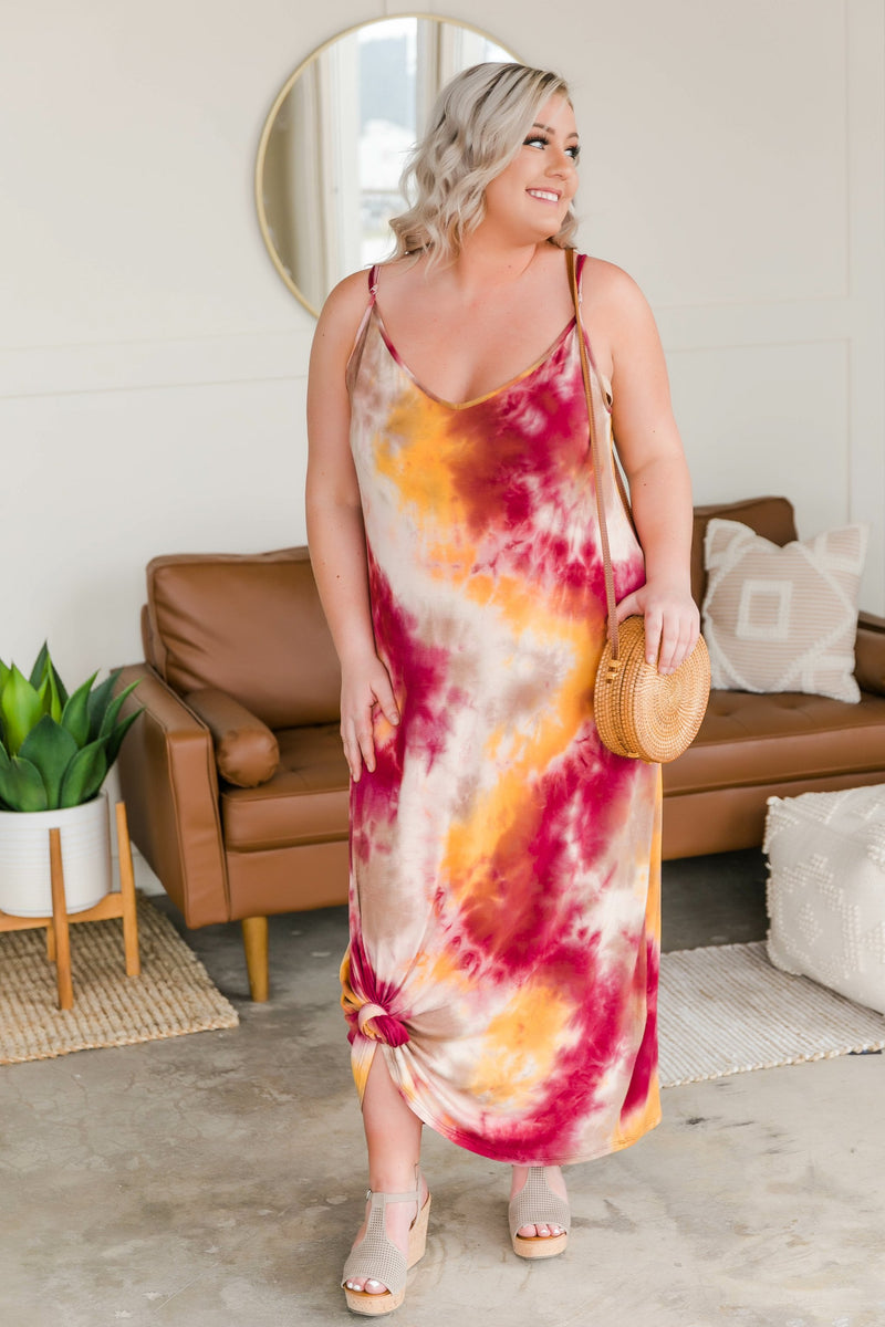 Falling For Spring Maxi Dress