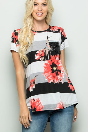 #A6 Let Me Bloom Top (FINAL SALE)